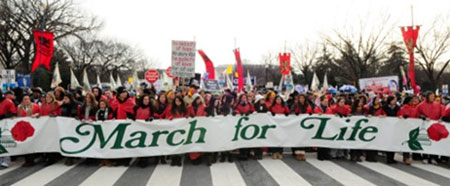 March for Life di Washington